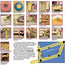 TRG Tile Flooring Measuring Instrument Angleizer Multi-angle Ruler Template Tool