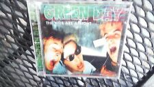 "GREEN DAY ""THE KIDS ARE ALRIGHT"" PRO SOURCED SILVER DISC CD-BRAND NEW/NEVER USED"