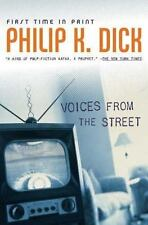 Voices from the Street by Philip K Dick a Hardcover book FREE SHIPPING