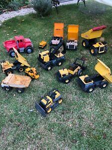 Tonka Dump Trucks, Diggers and 'Dozer lot