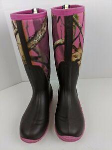 HISEA Waterproof Neoprene Rubber Muck Mud Hunting Rain Gardening Women Boot 7