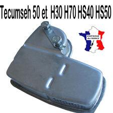 piece moteur POT echappement + 2 boulons tecumseh 50 et  H30 H70 HS40 HS50