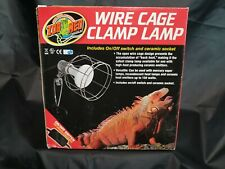 Zoo Med Wire Cage Clamp Lamp Ceramic Reptiles