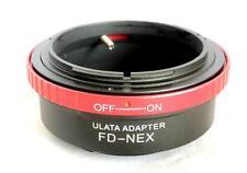 ULATA Lens Mount Adapter Canon FD to Sony E FE NEX Mount A7 NEX 6 A6000 FD-NEXRD