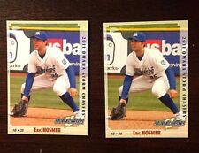 (2) ERIC HOSMER 2011 Omaha Storm Chasers Minor League Cards NRMT+ or better