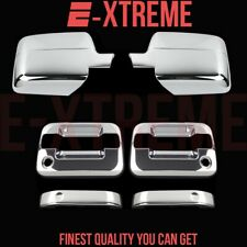 FOR FORD 04-08 F-150 XLT/FX4 2DRS HANDLE W/PSKH+2PC MIRROR CHROME COVERS