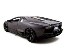 LAMBORGHINI REVENTON MATT GREY 1:18 DIECAST MODEL CAR BY BBURAGO 11029