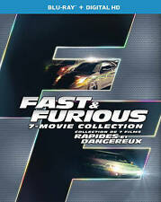 Fast and Furious 7-Movie Collection 1-7 PLUS Bonus Disc! Blu-ray FAST Ship!