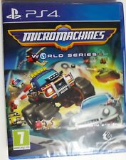 MicroMachines - World Series - PS4 - New and Sealed