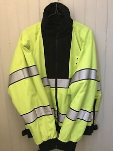 Flying Cross Reversible High Visibility Safety Traffic Jacket Reflective Police