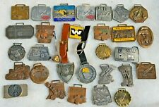 COLLECTION OF VINTAGE HEAVY CONSTRUCTION EQUIPMENT WATCH FOB CATERPILLAR & MORE