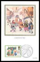 GB UK MK 1982 WEIHNACHTEN CHRISTMAS MAXIMUMKARTE CARTE MAXIMUM CARD MC CM as05