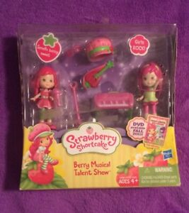 SEALED BRAND NEW Lot of 5 SCENTED Strawberry Shortcake Dolls Toys /& ACCESSORIES