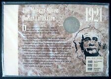 1921 U.S. SILVER DOLLAR COIN FROM MORGAN SILVER DOLLAR COLLECTION COA EINSTEIN