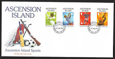 ASCENSION 1998 Cricket Golf Football Shooting 4v FDC
