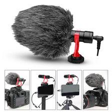 Shotgun Recording Camera Video Microphone for DSLR Camcorder Smartphone iPhone