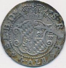 Köln Erzbistum Joseph Clemens von Bayern 4 Albus 1719 FW Bonn Silber #3