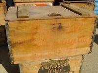 JACKSON BEER NEW ORLEANS,LA. WOOD CRATE JAX BEER