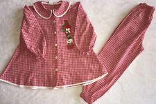 BAILEY BOYS Girls Christmas Outfit Size 6 2 Piece Elastic Waist Button Up Shirt