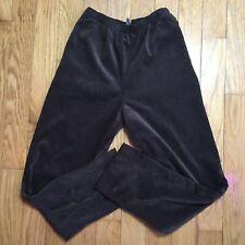 Alia Brown Corduroy Pull On Trousers Slacks Pants Size 8