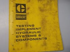 CAT Caterpillar D9G 988 Tractor Hydraulic Specifications Service Manual REG01292