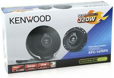 "Kenwood KFC-1695PS 6.5"" 320 Watt 3-Way Car Audio Coaxial Speakers"
