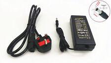 12V 5A 60W AC DC adaptador de poder suministrar cargador PSU Para Cámaras De Cctv Tiras de led