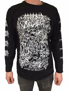 "Morbid Angel ""Altars Of Madness"" Long Sleeve T Shirt - OFFICIAL"