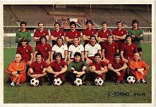 Cartoncino Squadra Torino Calcio 1978/79 cm 16,5 x 24 (Retro Autografi Stampati)