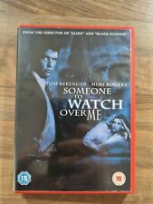 SOMEONE TO WATCH OVER ME DVD Film Movie Cert 15
