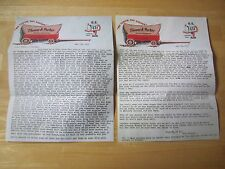 Letter from Colonel Parker to Elvis & Vernon Presley 1959 Reproduction
