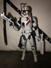 Star Wars Black Series 6 Inch Custom First Order Special Forces Commander