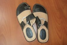 Born Strappy Open Toe Slide Sandals Shoes 39/8 ~NEW~