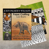 Debbi Moore John Palmer's Wildlife Paper Crafting CD Rom  (323968)