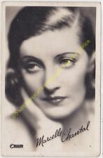 RPPC STAR CPSM MARCELLE CHANTAL Photo PATHE NATAN Edit CINEMATOGRAPHIQUES