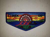Boy Scout OA Lodge 132 Illinek Brotherhood Flap No Moon