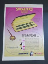 Original 1939 SHEAFER'S Lifetime Pens Feathertouch Case Set