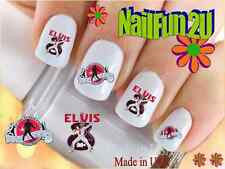"RTG Set#540 CHARACTER ""Elvis 4 The King"" WaterSlide Decals Nail Art Transfers"