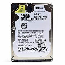 "WESTERN DIGITAL 320 GB wd3200bvvt 2.5 ""Sata Laptop Hard Disc Drive HDD Garanzia"