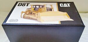 CCM 1:24 Brass Model - CAT D8T Track Type Tractor Dozer Yellow MIB w/certificate