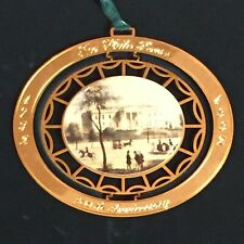 The White House Historical Association 1992 Christmas Ornament 200th Anniversary
