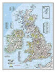 Britain And Ireland Executive, Laminated: Wall Maps Countries & Regions