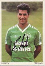 Ertan Irizik   FC ST.Gallen  Fußball Autogrammkarte signiert 365762
