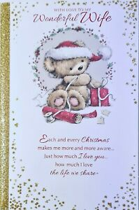 With Love Wonderful  Wife at Christmas Card