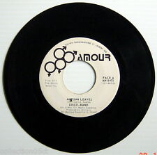 ONE 45 R.P.M. RECORD, DISCO-BAND, AUTUMN LEAVES + AUTUMN LEAVES (ABRIDGED VERSI)