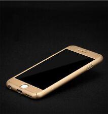 Samsung Galaxy A5 2016 Handy-Hülle Schutz-Case Cover Panzer Schutz Glas Gold
