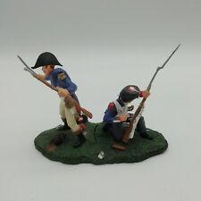 Waterloo Juin 1815 Officier et grenadier de la garde impériale au combat