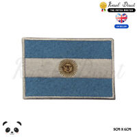 ARGENTINA National Flag Embroidered Iron On Sew On PatchBadge For Clothes etc