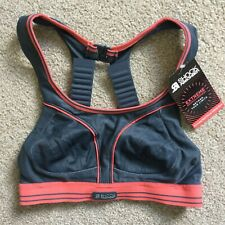 SHOCK ABSORBER Size 32A EXTREME BOUNCE CONTROL ULTIMATE RUN Sports Bra Grey