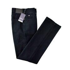 Men's ZEGNA SPORT Regular Fit Stretch Cotton Black Denim Jeans 32 NWT $295!
